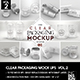 Clear Packaging MockUps 02 - GraphicRiver Item for Sale