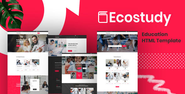 Ecostudy - Education HTML5 Template