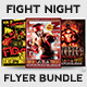 Fight Night Flyer Bundle - GraphicRiver Item for Sale
