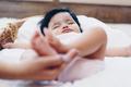 Baby feet in mother's hands - PhotoDune Item for Sale