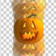 Halloween Pumpkin - Bouncing Animation - 3DOcean Item for Sale