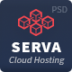 Serva - Cloud Hosting and Server PSD Template - ThemeForest Item for Sale