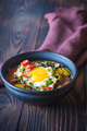 Soup of black beans and an egg - PhotoDune Item for Sale