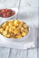 Portion of patatas bravas with sauces - PhotoDune Item for Sale
