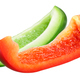 Red and Green Bell Pepper Slices - PhotoDune Item for Sale