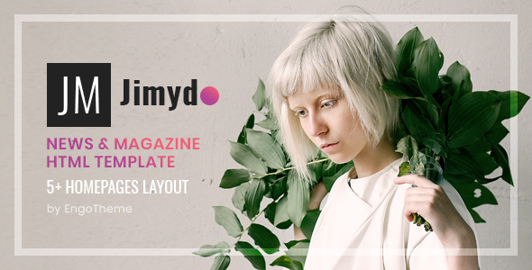 JIMYDO – News & Magazine HTML Template Free Download | Nulled