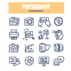 Photography Doodle Icons - GraphicRiver Item for Sale