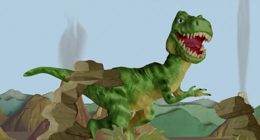 Plasticine Dinosaurs