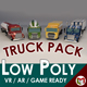 Low Poly Cartoon Truck Pack 01 - 3DOcean Item for Sale