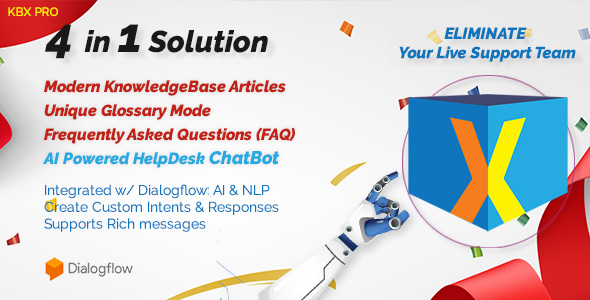 KnowledgeBase Glossary, FAQ & HelpDesk ChatBot Free Download | Nulled