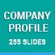 Stunning Company Profile Keynote Presentation Template - GraphicRiver Item for Sale
