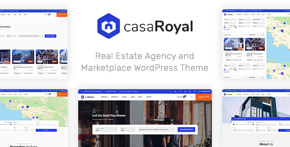 casaRoyal - Real Estate WordPress Theme Free Download | Nulled