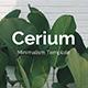 Cerium Minimal Keynote Template - GraphicRiver Item for Sale
