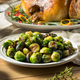 Healthy Roasted Brussel Sprouts - PhotoDune Item for Sale