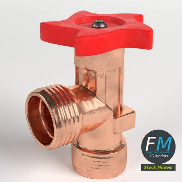 Gas Valve - 3DOcean Item for Sale