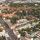 Aerial view out of a plane window over Berlin, Germany - PhotoDune Item for Sale