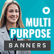 Multipurpose Web Banner Set - GraphicRiver Item for Sale