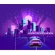 Night Neon City - GraphicRiver Item for Sale