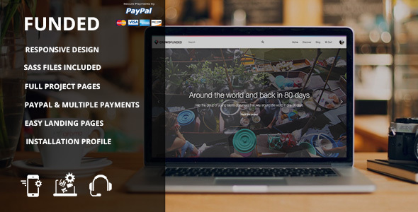 Funded - Drupal Crowdfunding Commerce Site - Miscellaneous Drupal