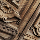 Details of a stylish old wooden door - PhotoDune Item for Sale