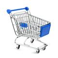 Blue shopping cart - PhotoDune Item for Sale