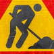 Workman road sign - PhotoDune Item for Sale