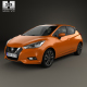 Nissan Micra 2016 - 3DOcean Item for Sale