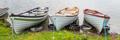 Rowing Boats Near Kilbeg Pier in Ireland - PhotoDune Item for Sale