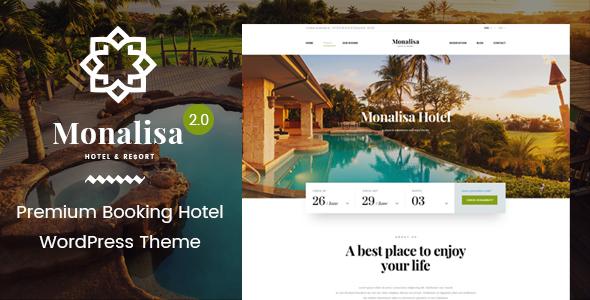 Hotel WordPress Theme | Monalisa Hotel