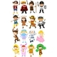 Children In Different Costumes - GraphicRiver Item for Sale