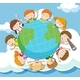 Global Kids On The Sky - GraphicRiver Item for Sale