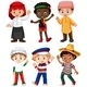 Different Nationalities Of Boys - GraphicRiver Item for Sale