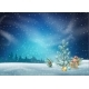 Christmas Night Landscape - GraphicRiver Item for Sale