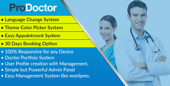 ProDoctor - Doctor Appointment System with Portfolio Management