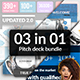 3 in 1 Pitch Deck Bundle - GraphicRiver Item for Sale