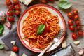 Spaghetti pasta with tomato sauce - PhotoDune Item for Sale