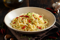Spaghetti with garlic, olive oil and hot red pepper - PhotoDune Item for Sale
