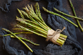 Fresh raw asparagus spears - PhotoDune Item for Sale