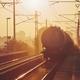 Freight train at sunrise - PhotoDune Item for Sale