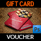 Christmas and New Year Gift Voucher Card Template - GraphicRiver Item for Sale