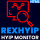 RexHYIP - HYIP Monitor & Listing HTML Template - ThemeForest Item for Sale