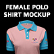 Ultimate Female Polo Shirt Mock-up - GraphicRiver Item for Sale