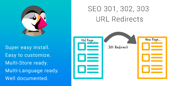 SEO 301, 302, 303 URL Redirects 404 Page            Nulled