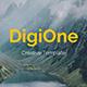 DigiOne Creative Keynote Template - GraphicRiver Item for Sale