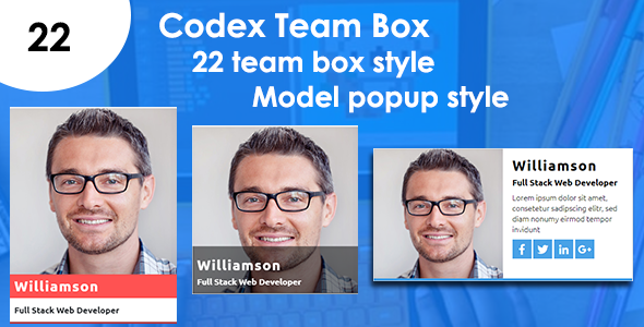 Codex Team Box - CodeCanyon Item for Sale
