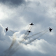 Jet military aircraft on the background of clouds - PhotoDune Item for Sale
