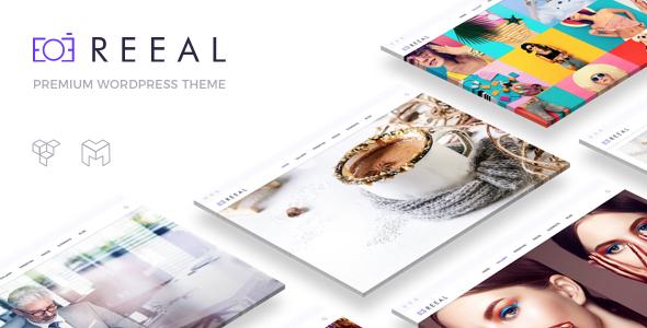 Reeal - Photography WordPress Theme - Photography Creative