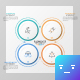 Circular SWOT Template - GraphicRiver Item for Sale
