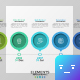 Horizontal Timeline Infographic - GraphicRiver Item for Sale