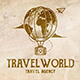 Travel World Agency Logo - GraphicRiver Item for Sale